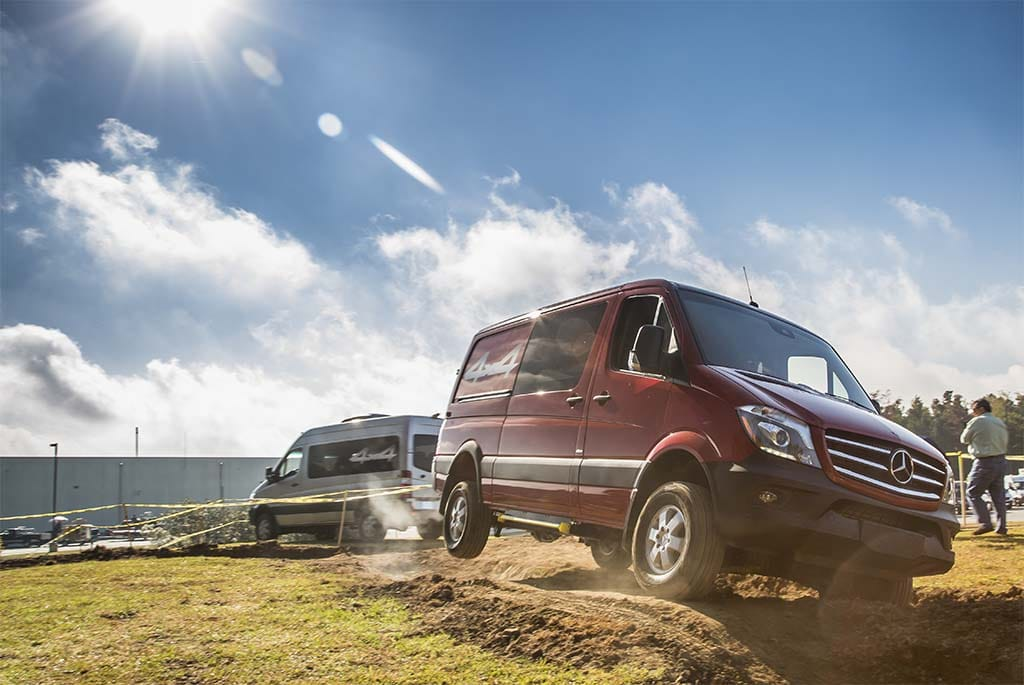 Mercedes Breaks Ground for First US Van Assembly Plant