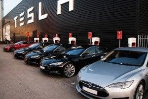 Tesla's charging