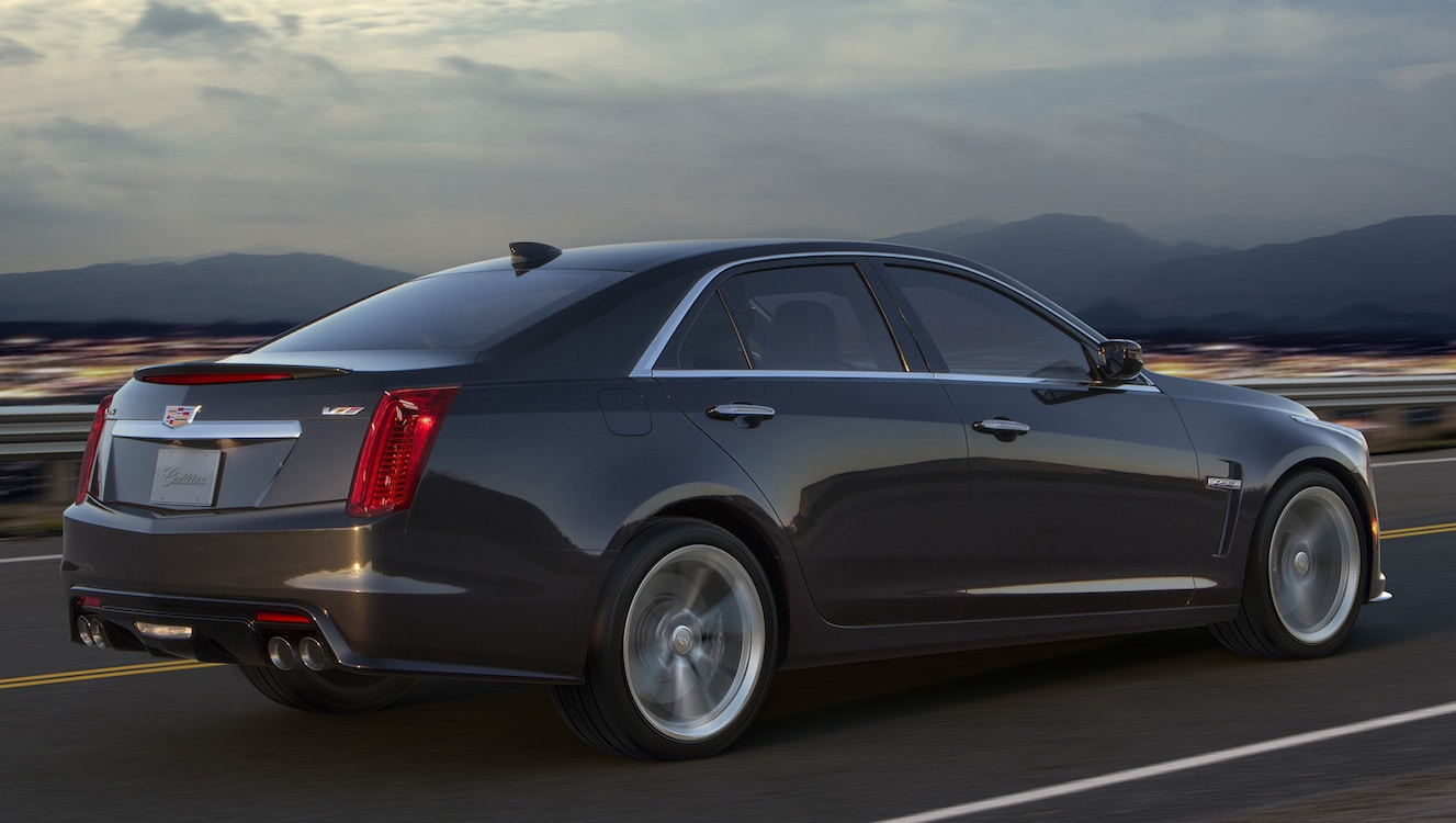 cadillac has plans to grow v series performance line up 2016 cadillac cts v rear. Black Bedroom Furniture Sets. Home Design Ideas
