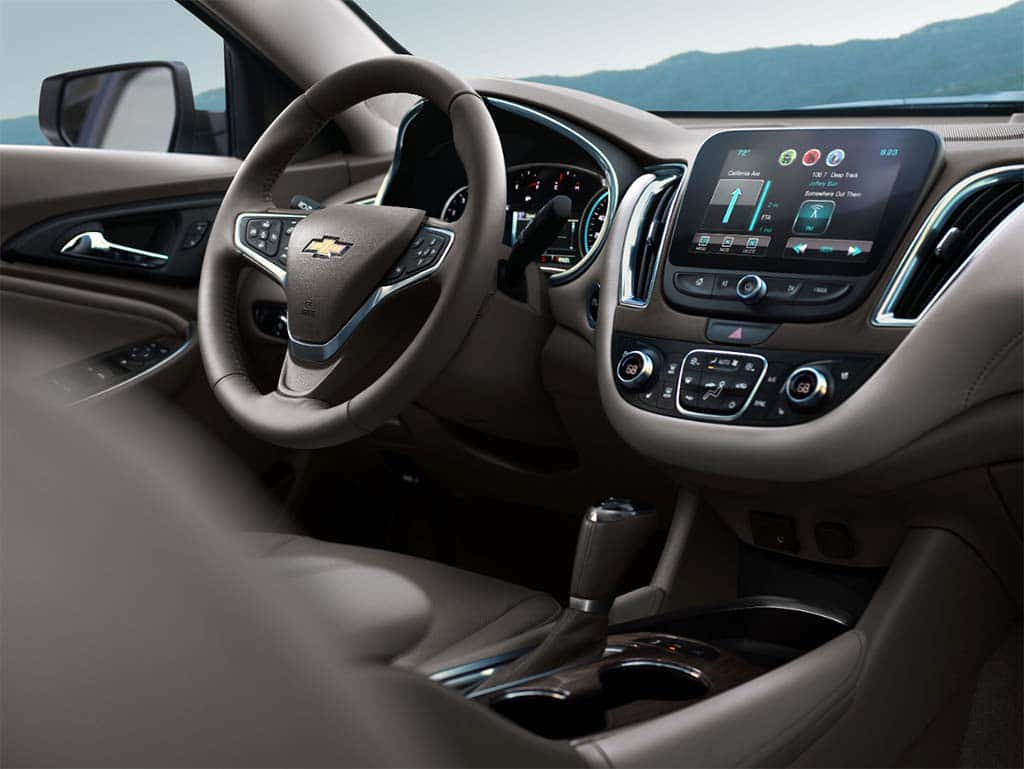 The New 2016 Chevrolet Malibu Adds Nine Safety Features And Improved Connectivity