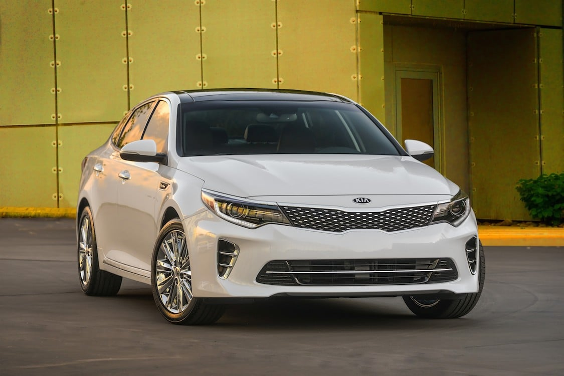 Kia Optima Remains At Head Of The Class 2016 Kia Optima Sx