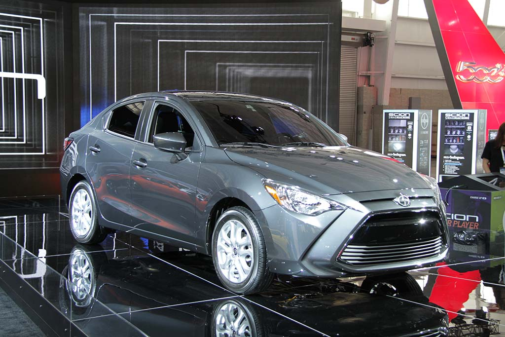 The New Scion Ia Is Designed To Give Entry Level Drivers A Sporty And Stylish