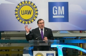 General Motors Executive Vice President and President, North America Alan Batey announced GM will invest $124 million as part of $5.4 billion in U.S plant improvements over the next three years, including $783.5 million for three Michigan facilities.