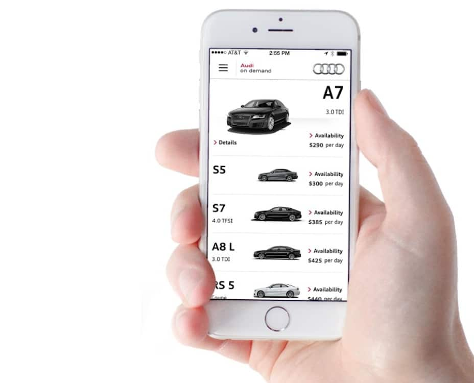 "Audi's ""Mobility"" Program Allows Rentals with Swipe of iPhone"