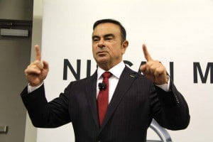 Carlos Ghosn said in New York today that strong U.S. sales present Nissan with a capacity problem and the maker may need a new plant.