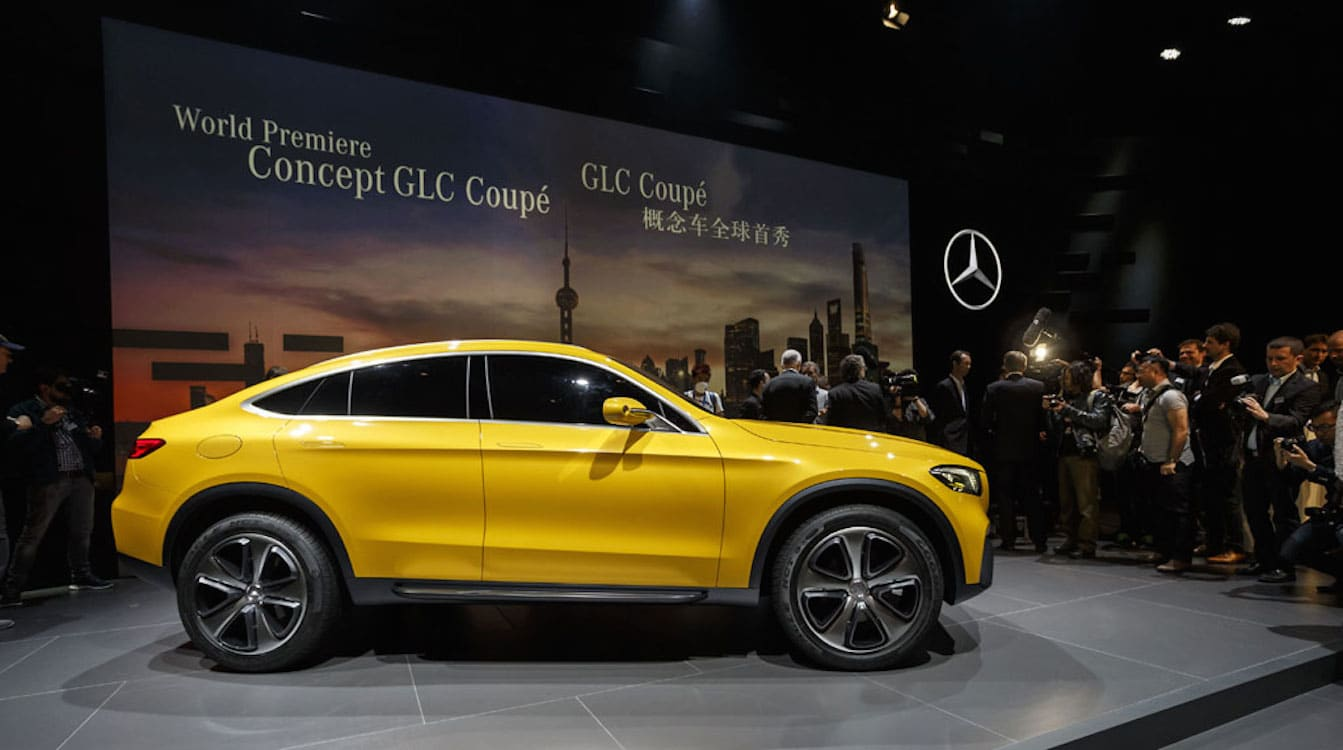 Mercedes-Benz GLC Coupe Concept Gets Green Light