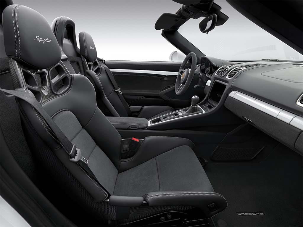 Back To Basics With New Porsche Boxster Spyder » Porsche Boxster Spyder U2013  Interior