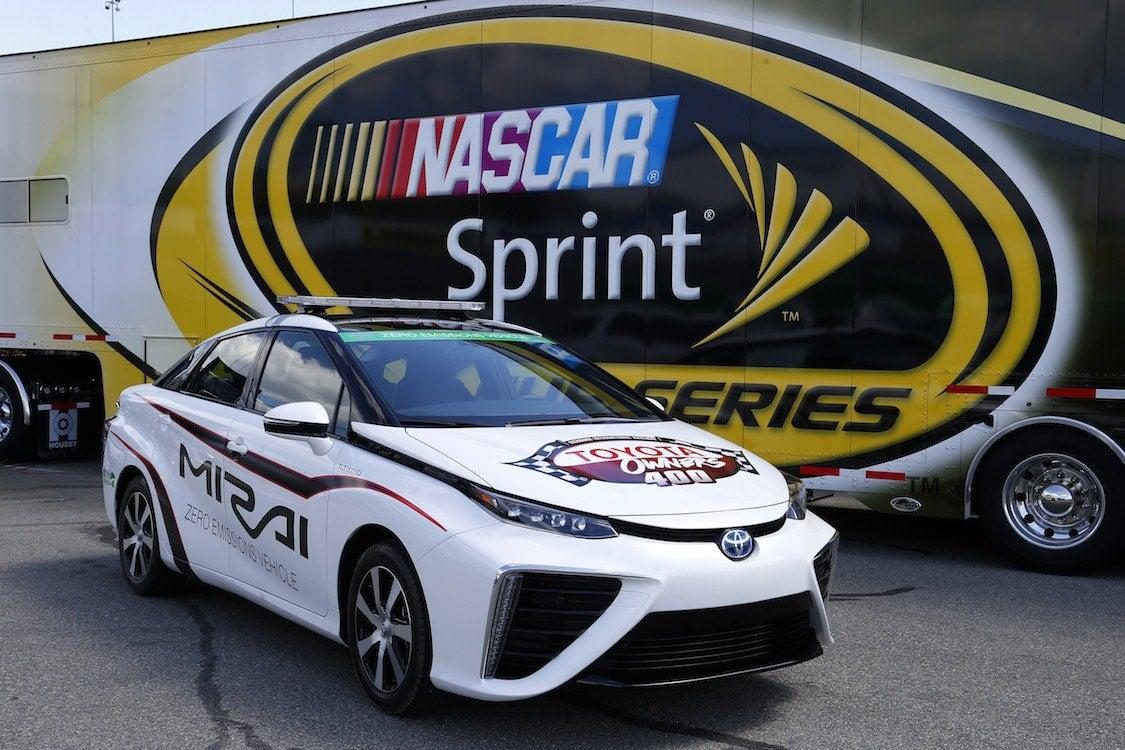 Toyota Mirai Paces NASCAR Race