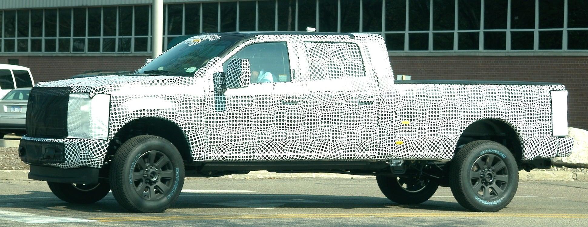 Spy Shots: Ford Super Duty Goes Aluminum, Too