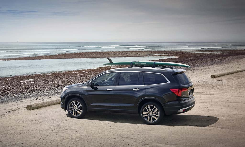 The 2016 Honda Pilot can push up above $40,000 in high-trim models.