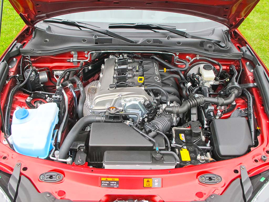 2016 Mazda Mx-5 Miata  U2013 Engine Compartment 2016 Mazda Mx-5 Miata