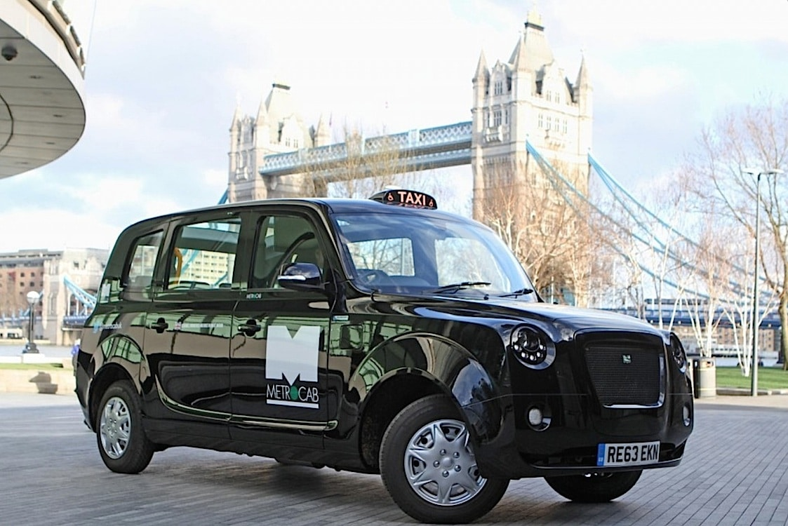 New EV Taxi Charges onto London's Streets