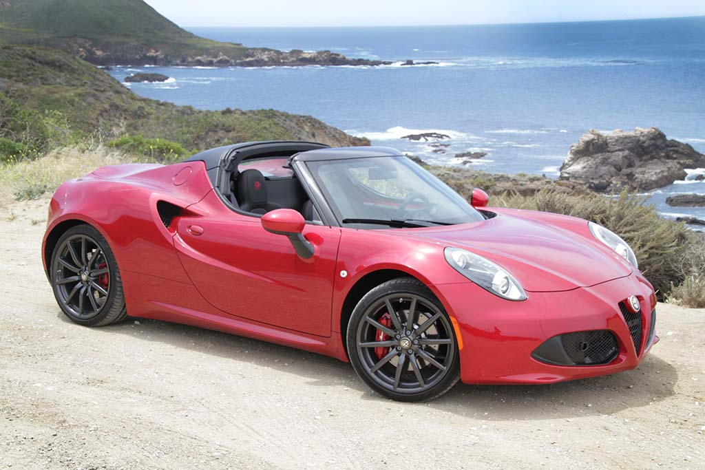 first drive 2015 alfa romeo 4c spider. Black Bedroom Furniture Sets. Home Design Ideas