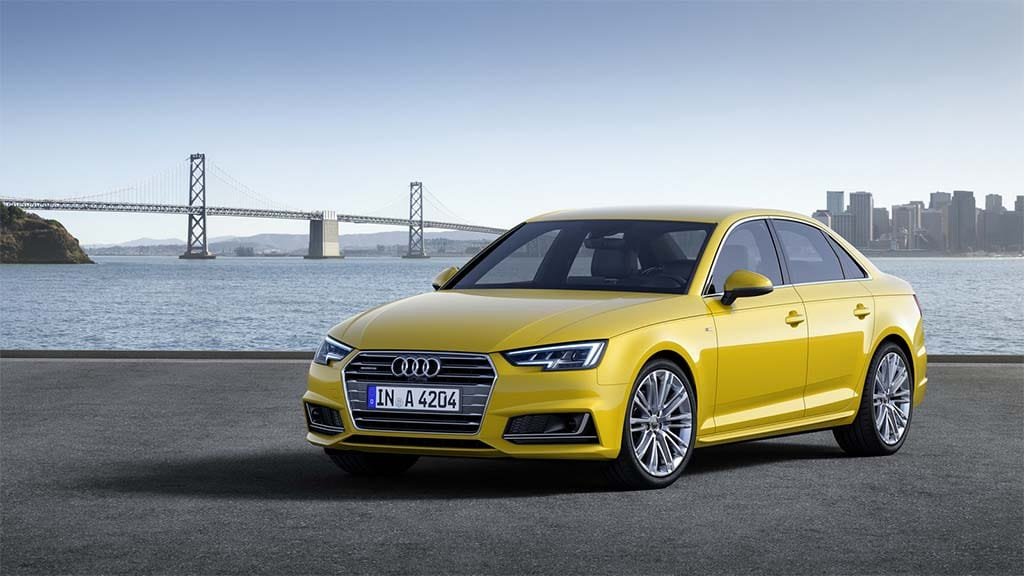 Audi Reveals New A4 Ahead of Formal Frankfurt Debut