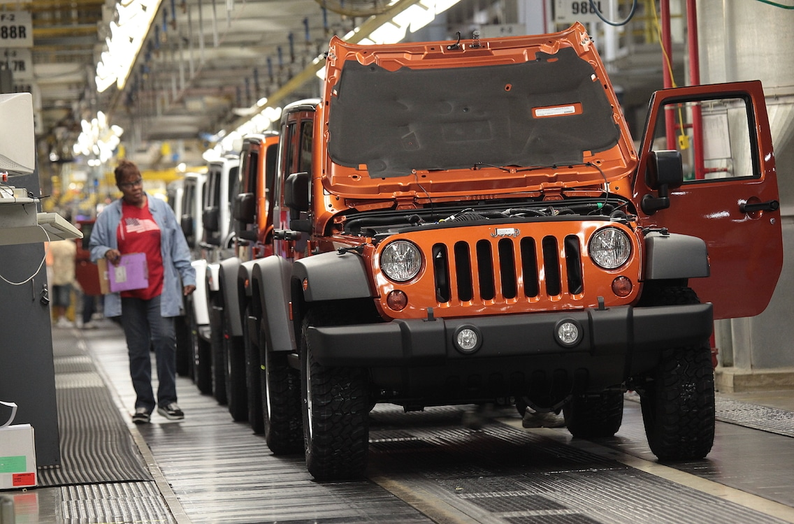 Jeep Expects to Hit 1.2 Million in Sales in 2015