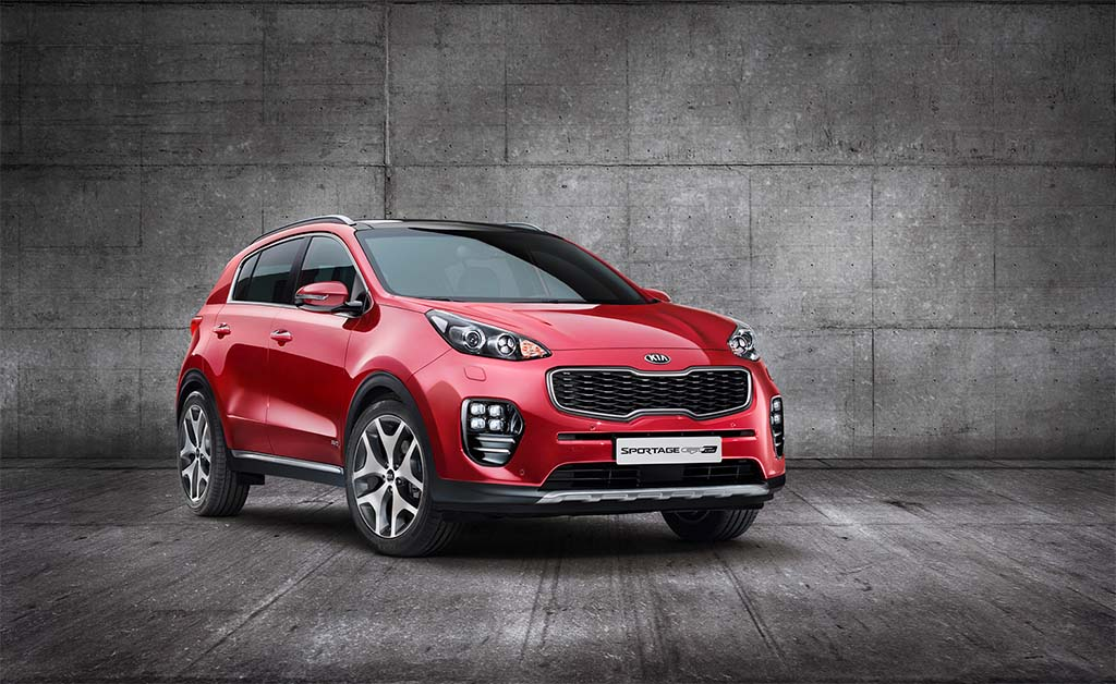 Kia Reveals New Sportage