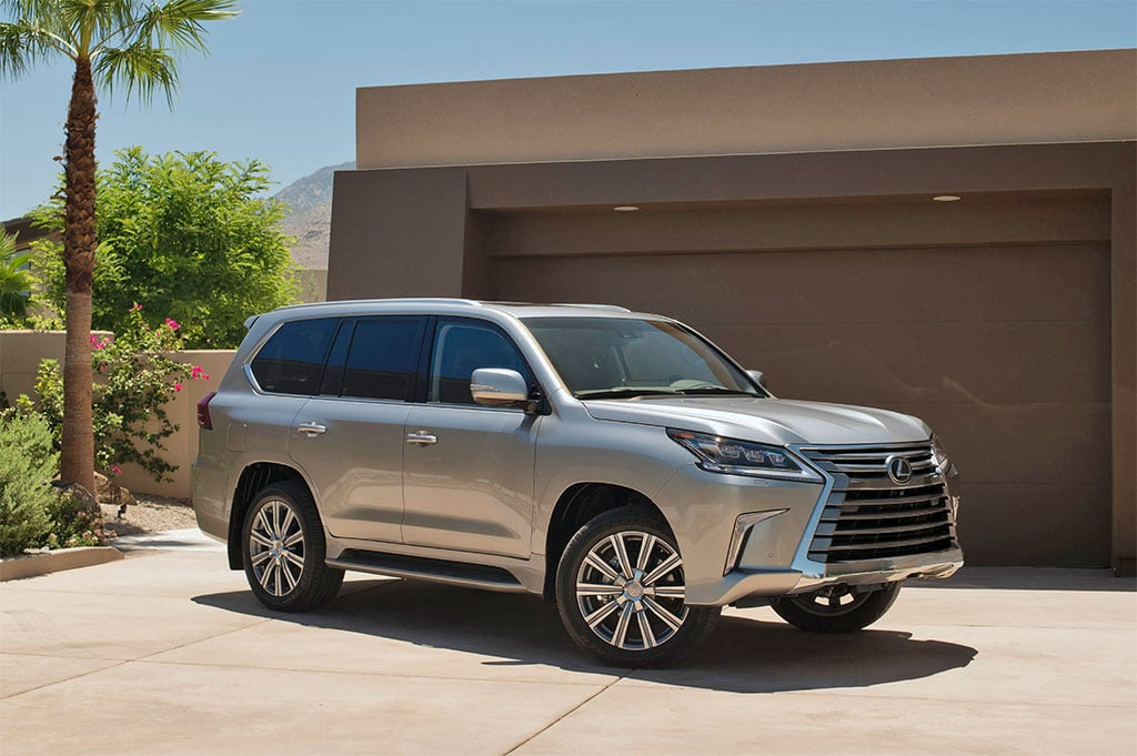 the 2016 lexus lx 570 is powered by a 5 7 liter v 8 making 383. Black Bedroom Furniture Sets. Home Design Ideas