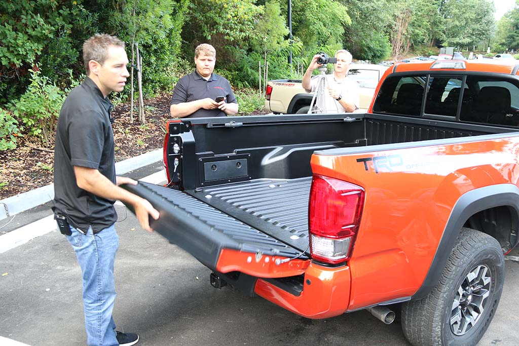 2016 Toyota Tacoma Composite Bed