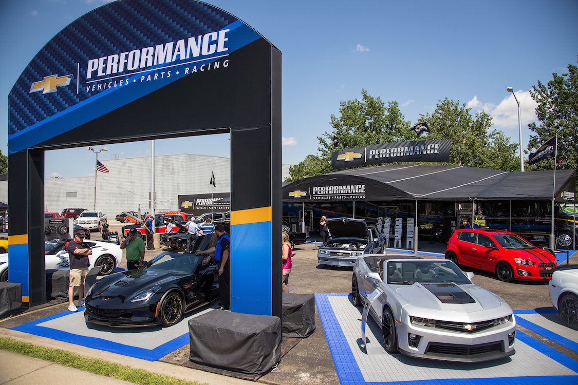 Makers Hit Dream Cruise for Performance Parts Sales