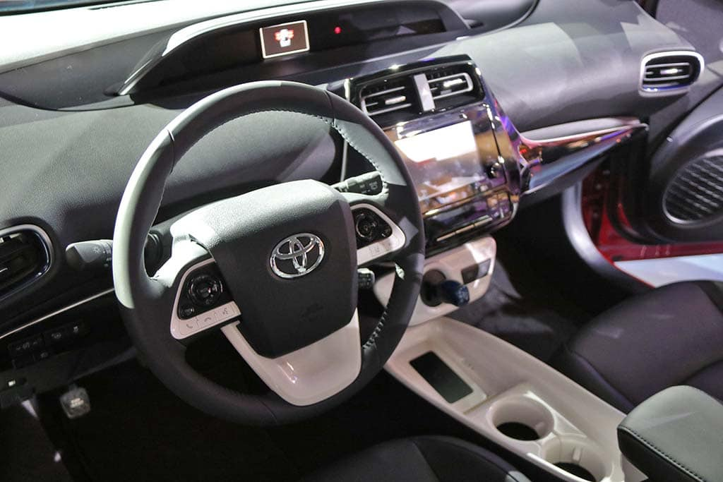 The New Prius Gets A More Refined Interior