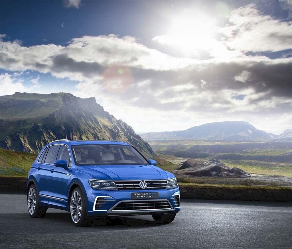 Volkswagen 2015 Tiguan: VW Tiguan Gets A Complete Makeover In Frankfurt