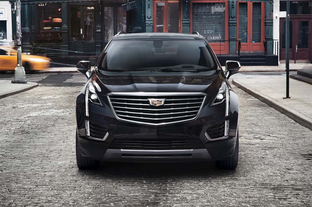 cadillac teases new xt5 crossover ahead of dubai unveiling. Black Bedroom Furniture Sets. Home Design Ideas