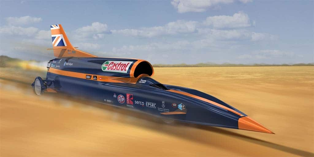Forget the Sound Barrier, Bloodhound SSC is Aiming at 1,000 MPH