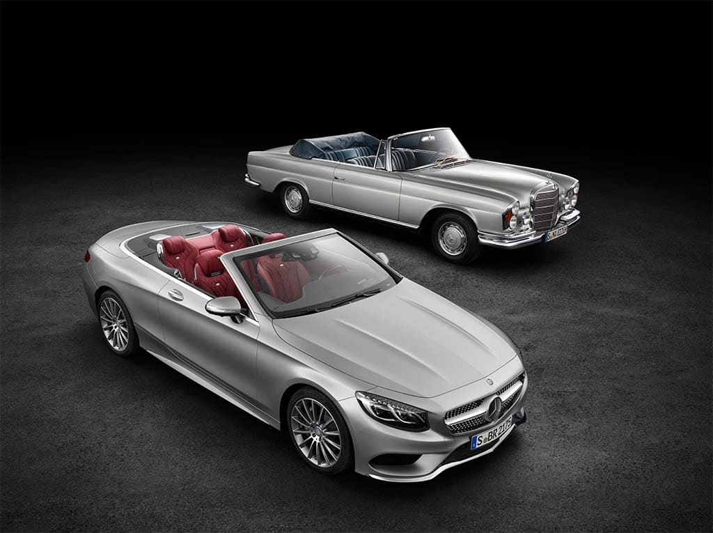 Going topless mercedes pulls covers off new s class for New mercedes benz s class 2015
