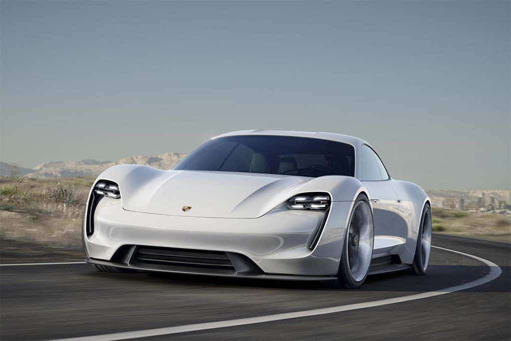 Porsche Aiming to Sell 20,000 Mission E Battery Sports Cars