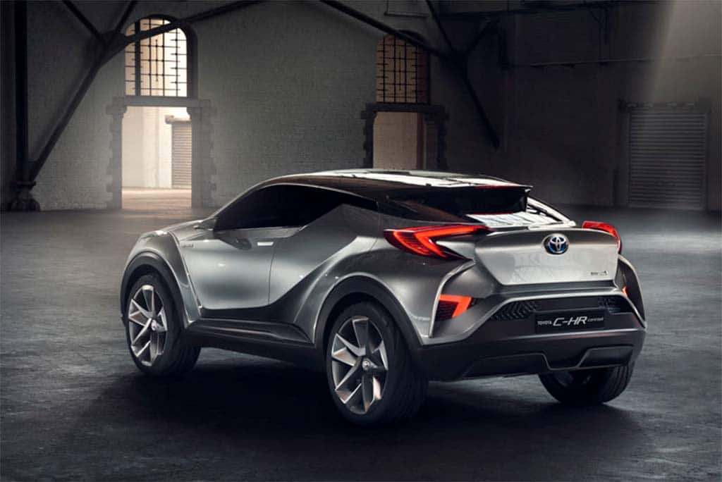 The Toyota C-HR picks up on the general drive for dynamic styling at