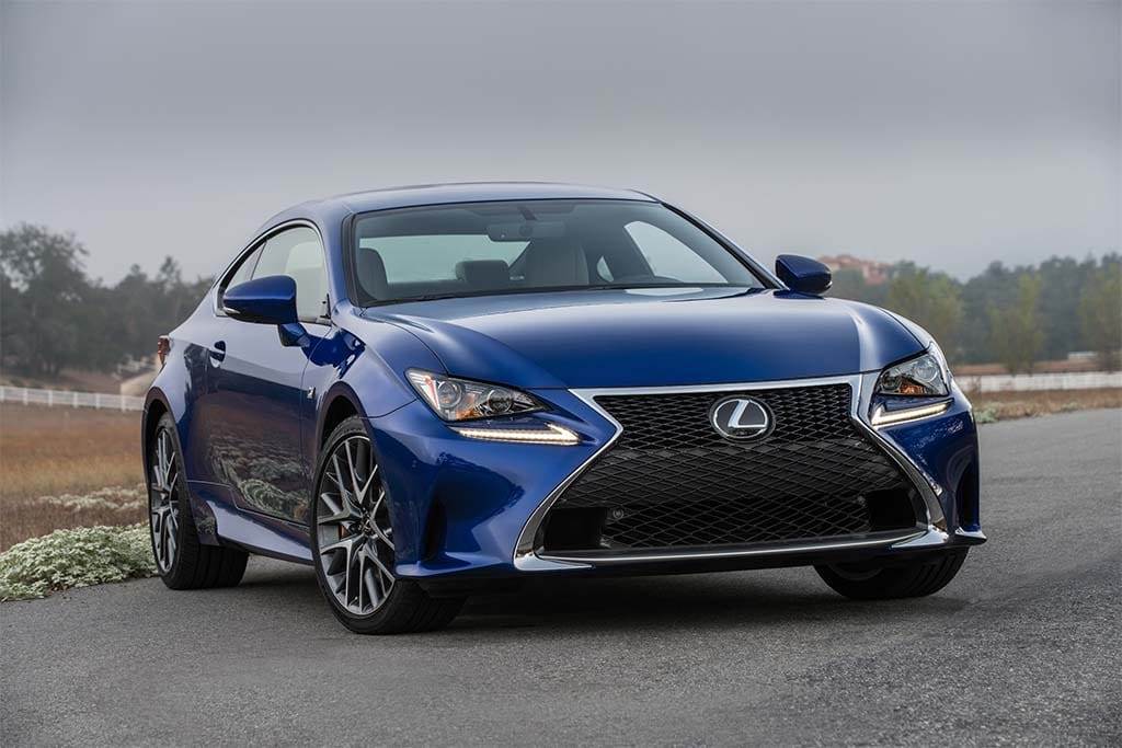 Lexus Adds Two New RC Coupe Models for 2016  TheDetroitBureaucom