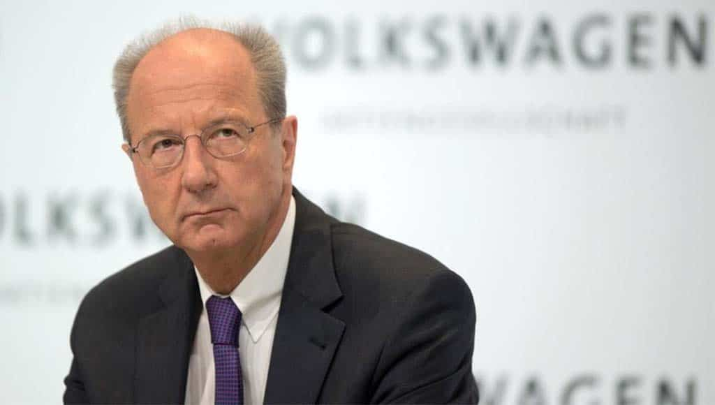 VW Denies Chairman Poetsch Knew About Scandal Early