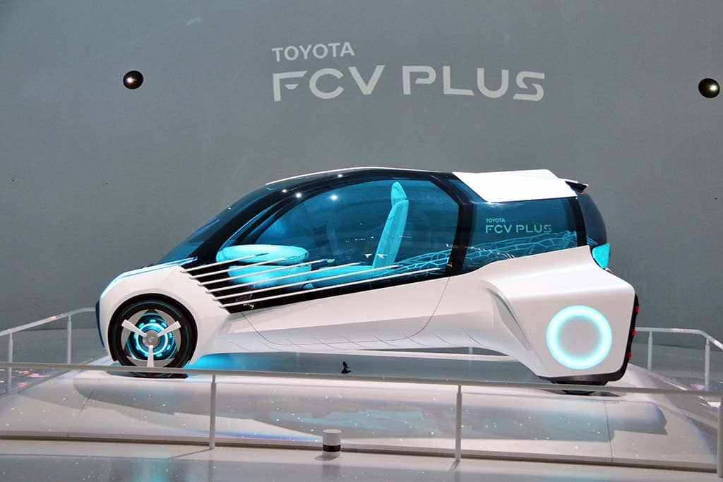Toyota Pushes Design Boundaries with FCV Plus