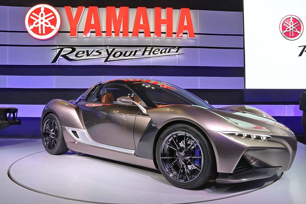 Yamaha Scores a Surprise Tokyo Motor Show Hit with Sports Ride Concept