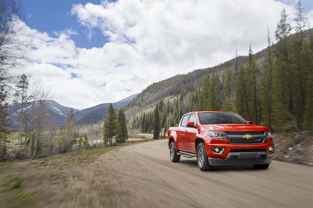 The 2016 Chevrolet Colorado Duramax is the only midsize diesel - other