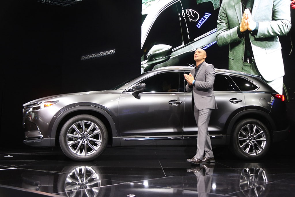 New 2016 Mazda CX-9 Shows its Soul in Motion | TheDetroitBureau.com