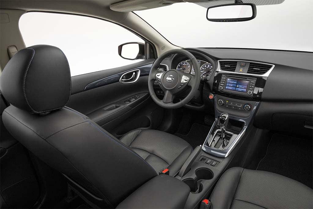 Inside The 2016 Nissan Sentra