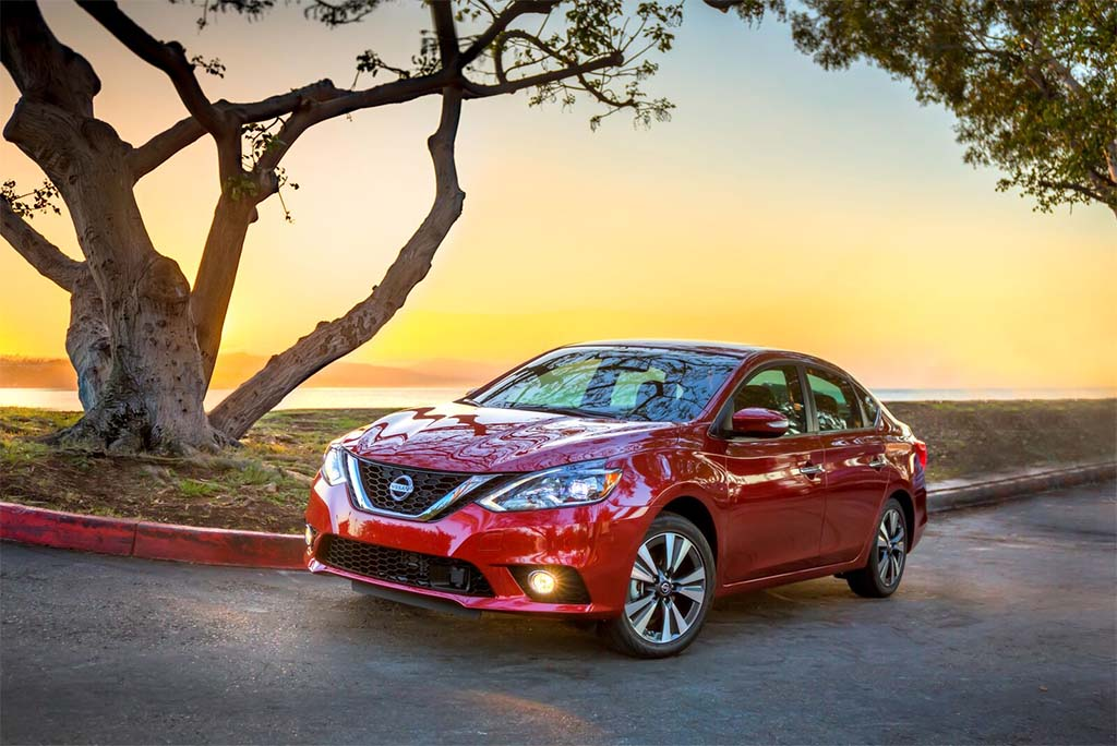 2016 nissan sentra gets heavy mid cycle redesign. Black Bedroom Furniture Sets. Home Design Ideas
