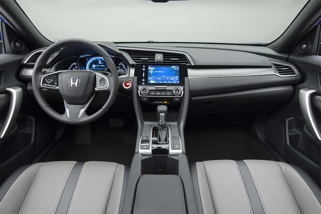 2017 Honda Civic Coupe Interior