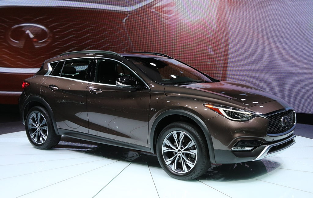 infiniti qx30 targets booming compact crossover crowd. Black Bedroom Furniture Sets. Home Design Ideas