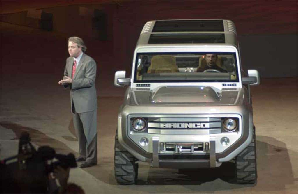 Could This Ford Bronco Concept Shown