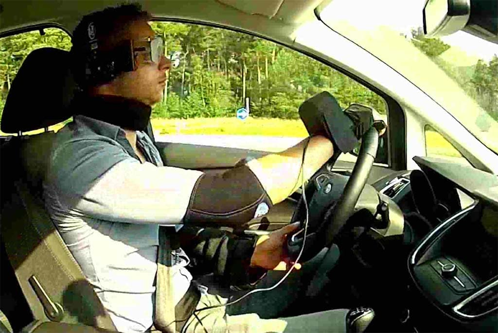 Ford Develops Suit to Simulate Driving While Stoned