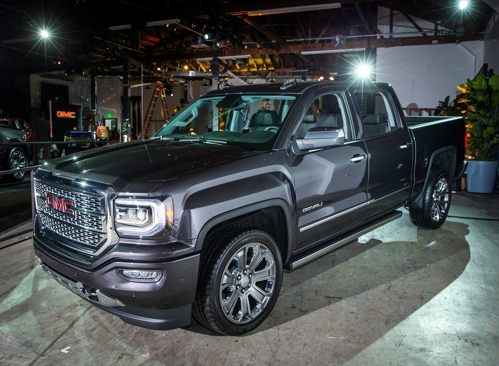 GMC Pickups Going Upscale with Denali Package Next Year ...