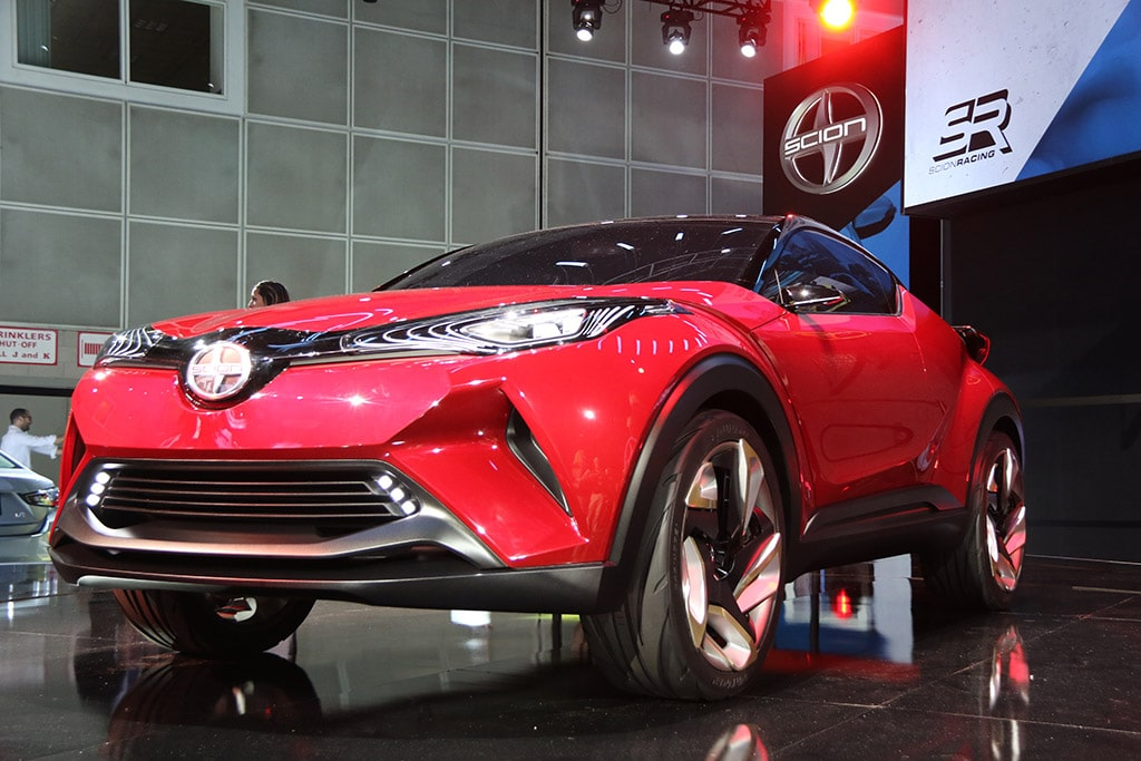 ... be the future of the brand's new line-up: a compact crossover vehicle