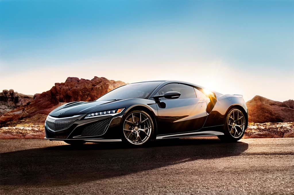 The 2017 Acura NSX adopts an unusual drivetrain pairing three motors ...