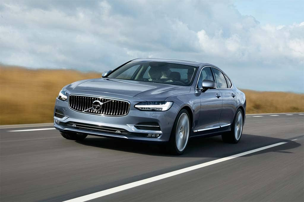 Volvo Lifts The Covers Off New Flagship S90