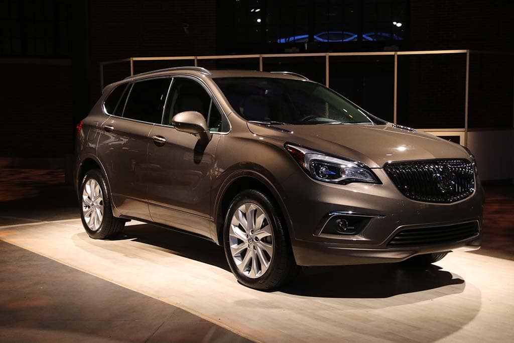 buick envision фото