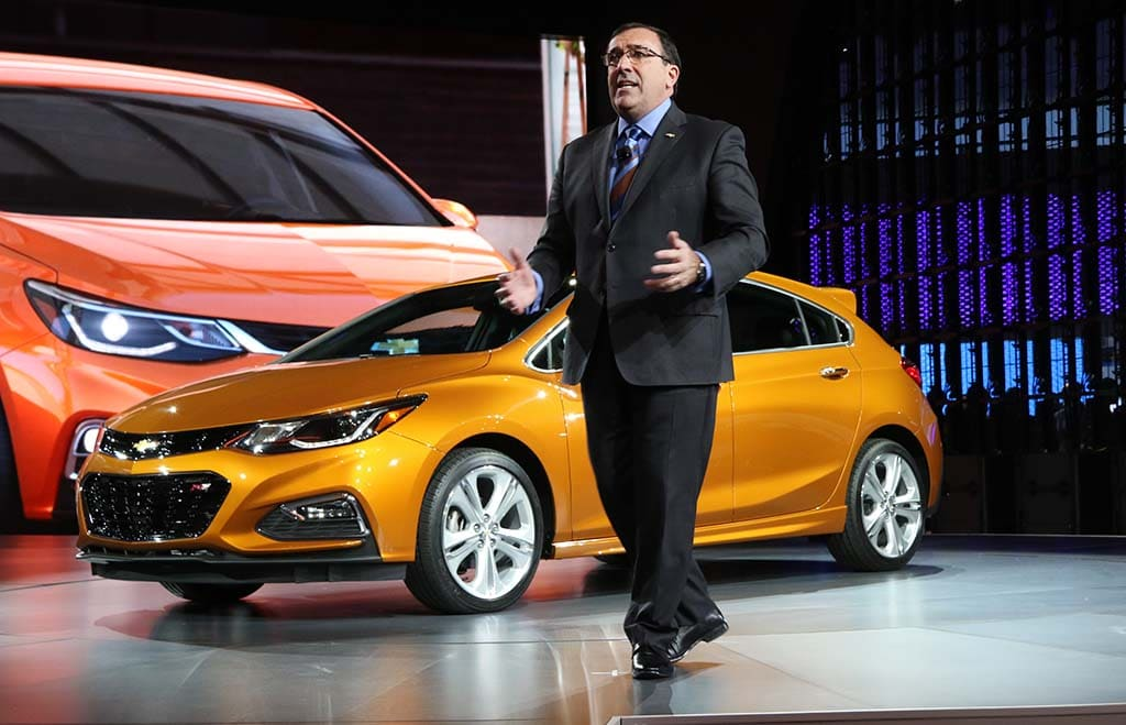 General Motors Sees Two Top Executives Depart