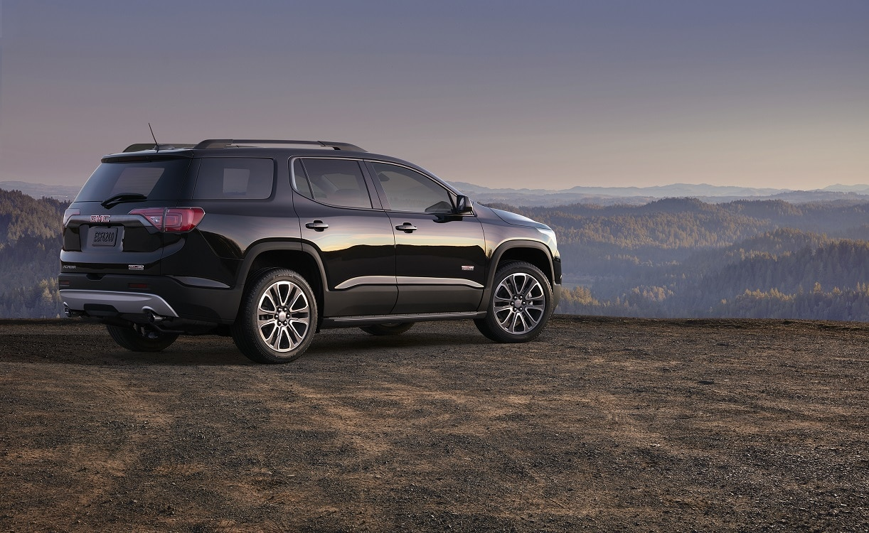 gmc riding high with 2017 acadia. Black Bedroom Furniture Sets. Home Design Ideas