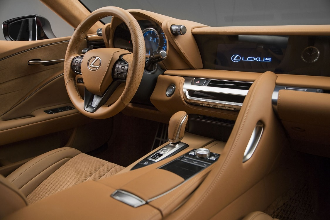 lexus pushes passion and performance with debut of lc 500